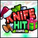 Play Knife Hit Xmas Online Game