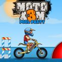 Moto X3M Pool Party Online Game