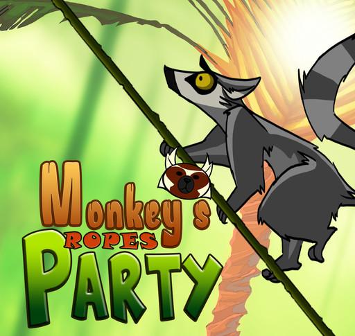 Monkeys Ropes Party