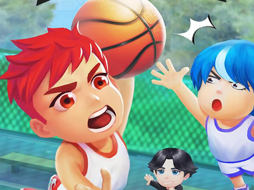 Neighborhood Basketball Game